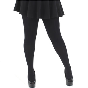 be92bf09ffe Black Opaque Tights 80 Denier 2x-3x