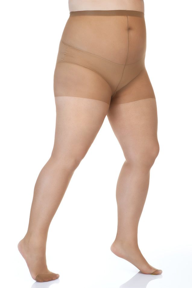 20 Denier Sheer Pantyhose (3X-7X)