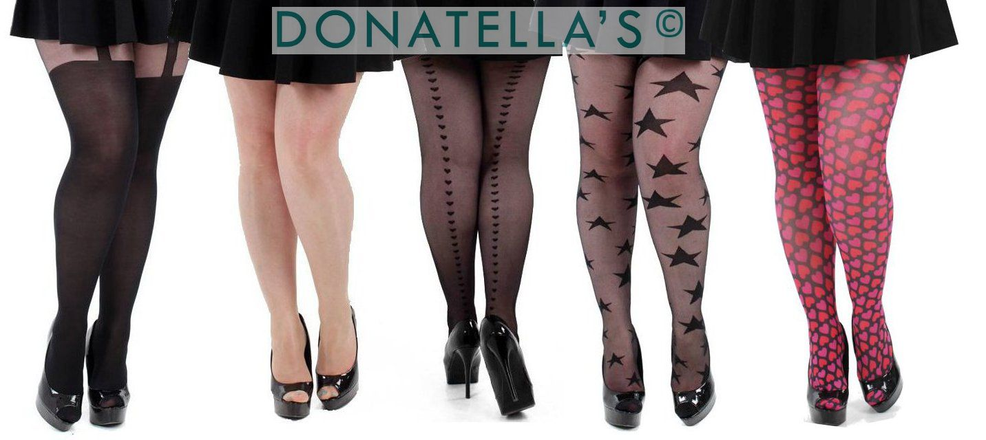 plus size hosiery, tights & stockings