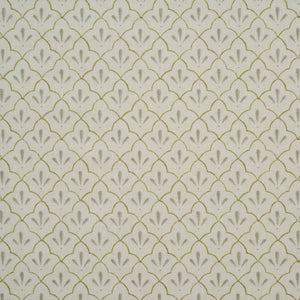 Amer Trellis Cotton Linen in celadon by haveli design