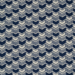 Aravali Cotton Linen Fabric in indigo by haveli design
