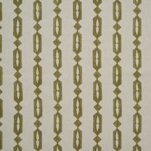 Minikari Stripe in Celadon by haveli design