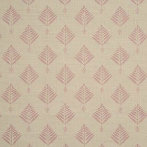 palm linen in pale rose by haveli design
