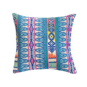 Blue Jacquard Cushion