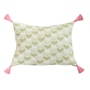 Aravali Cushion in Celadon