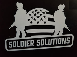 Soldier Solutions Decal