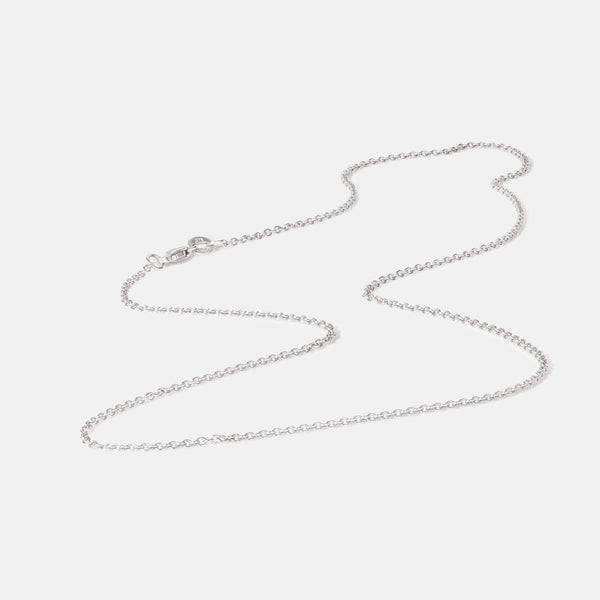 Trace White Gold Chain