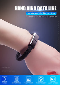 Data Charging Cable Bracelet - NY Square