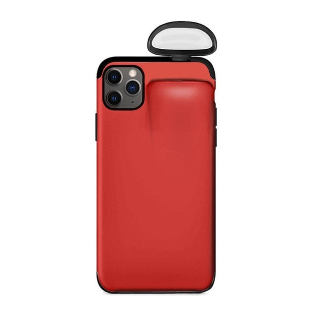 Dual AirPods iPhone Case - NY Square