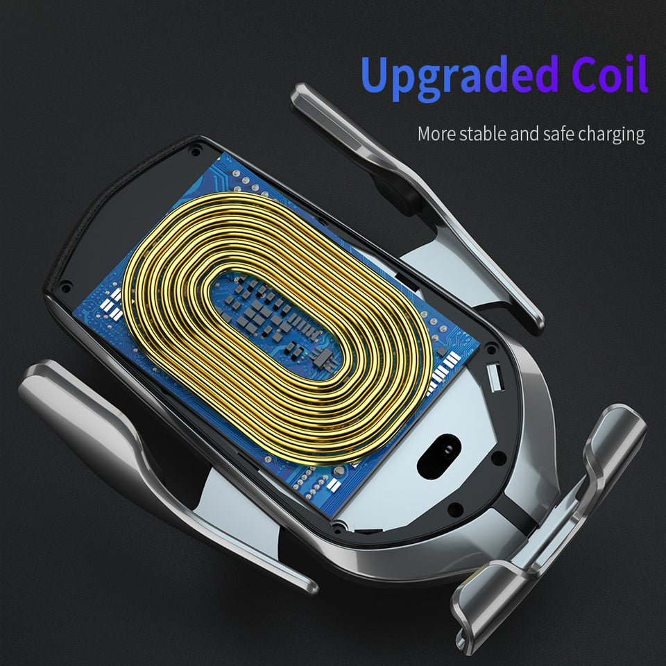 Car Wireless Charger and Phone Holder - NY Square