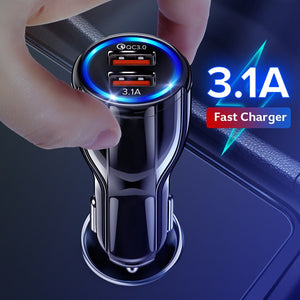 Dual USB 3.0 Quick Charge Car Charger - NY Square