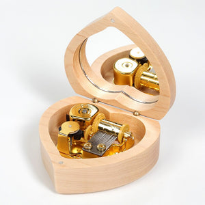 Music Box With Engraved Picture - THE PERFECT GIFT - NY Square
