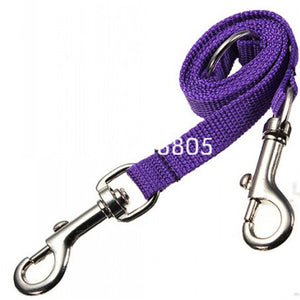 Two Dogs Double Twin Lead Walking Leash - NY Square