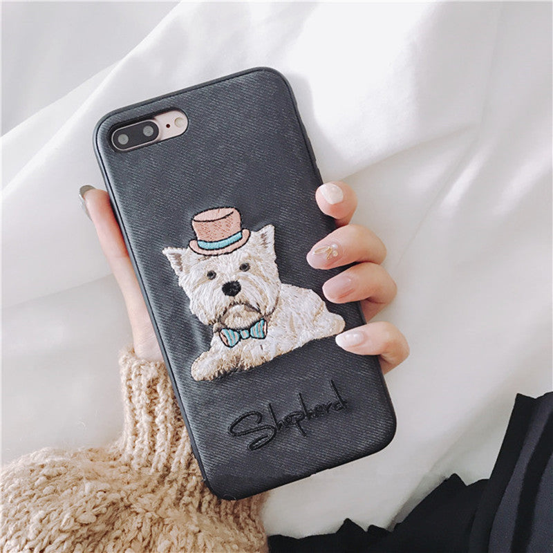 High Quality 3D Printed Terrier Dog Case Cover For Iphone - NY Square