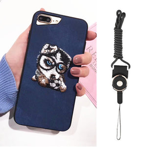 Unique 3D Printed Soft Husky Phone Case For Iphone - NY Square