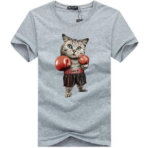 Cool Cat T-shirt for Men - NY Square