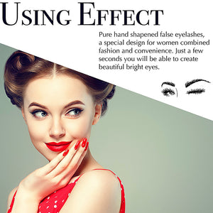 6600e047067 Magnetic Eyelashes Dual Magnet Glue-free 3D Reusable Full Size Premium  Quality Natural Look Best