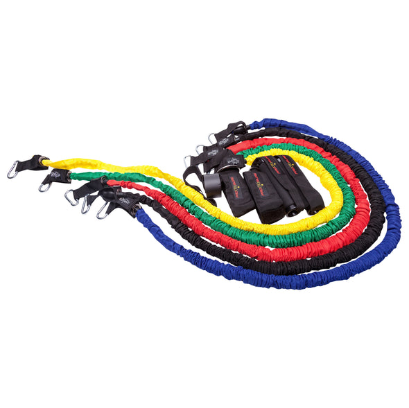 Re-Coil Resistance Band Set with Sleeves