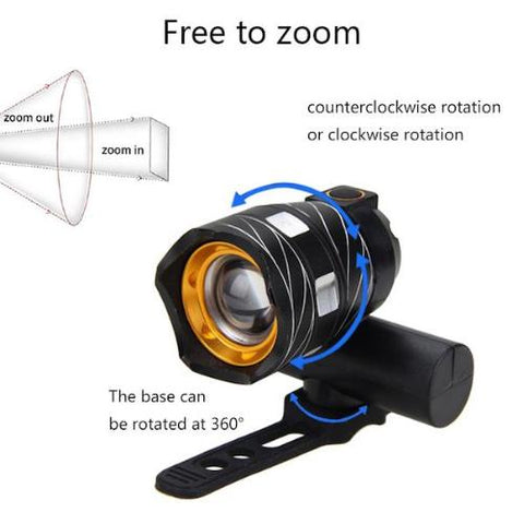Image of USB Rechargeable Bike LED Light