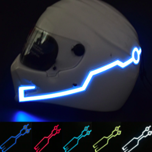 Motorcycle Helmet Light Strip