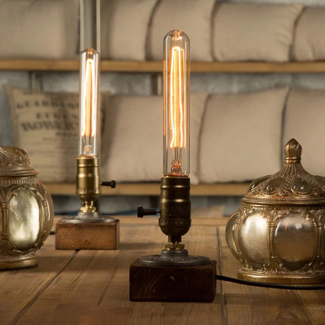 Vintage Bulb Table Lamp