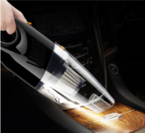 Image of Portable Car Vacuum Cleaner