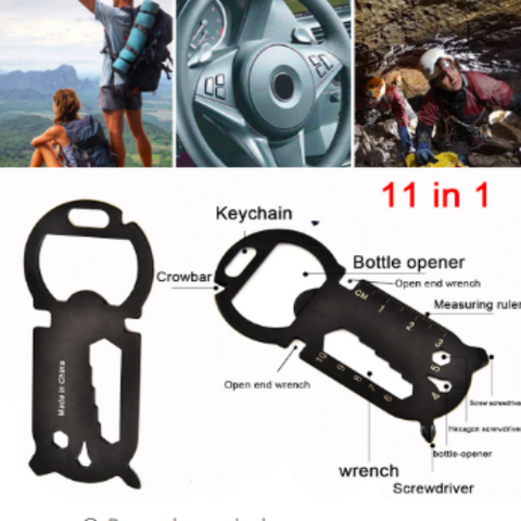 Image of 11 In 1 Multi-Function EDC Tool