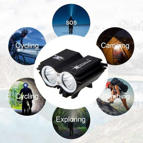 Bike Laser Light with 7 Flash Modes