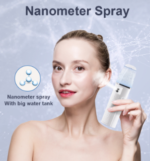 Facial steamer spray