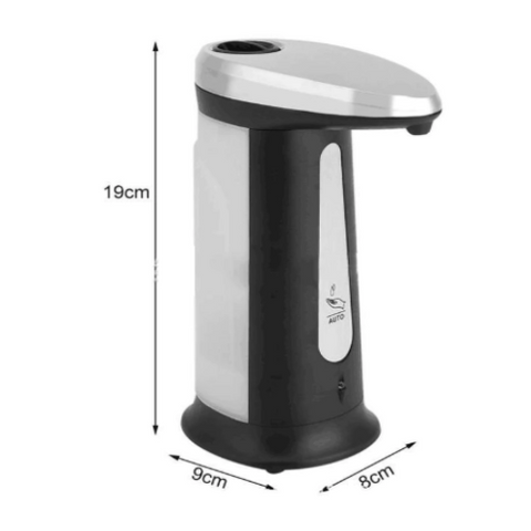 Electroplated Automatic Liquid Soap Dispenser
