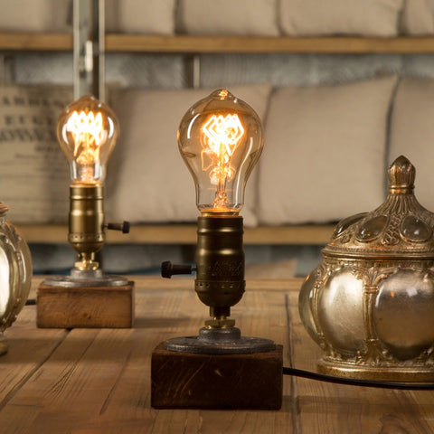 Image of Vintage Bulb Table Lamp
