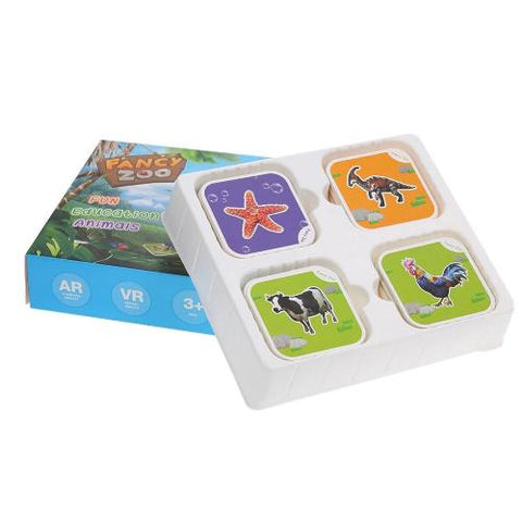 Educational 4D Animal Cards