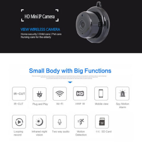 Image of Full HD 1080P Mini IP Camera