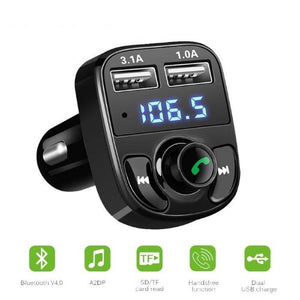 Bluetooth Car Kit with USB Ports