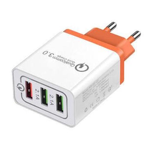 Multiple USB Plug with Fast Charger