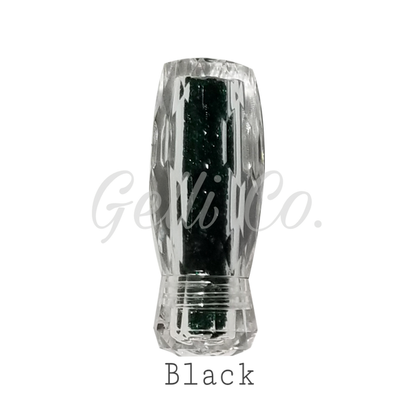 Crystal Pixie (Super Shine Made with Swarovski Crystal)-Black ● GelliCo USA ● Nail Art Design ● Best Top Gel ● Best Matte Top Gel ● Cheapest Gel Polish ● High Quality Gel Polish ● Marble Nail Art Design ● Chrome Nail Art Design ● Make Nail at Home ● Best Nail Gel ● Best Nail Polish
