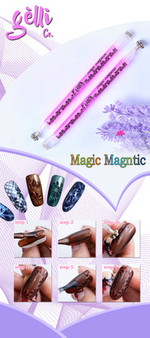 Magnetic Pen ● GelliCo USA ● Nail Art Design ● Best Top Gel ● Best Matte Top Gel ● Cheapest Gel Polish ● High Quality Gel Polish ● Marble Nail Art Design ● Chrome Nail Art Design ● Make Nail at Home ● Best Nail Gel ● Best Nail Polish