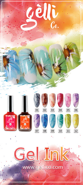 Gel Ink Set ● GelliCo USA ● Nail Art Design ● Best Top Gel ● Best Matte Top Gel ● Cheapest Gel Polish ● High Quality Gel Polish ● Marble Nail Art Design ● Chrome Nail Art Design ● Make Nail at Home ● Best Nail Gel ● Best Nail Polish