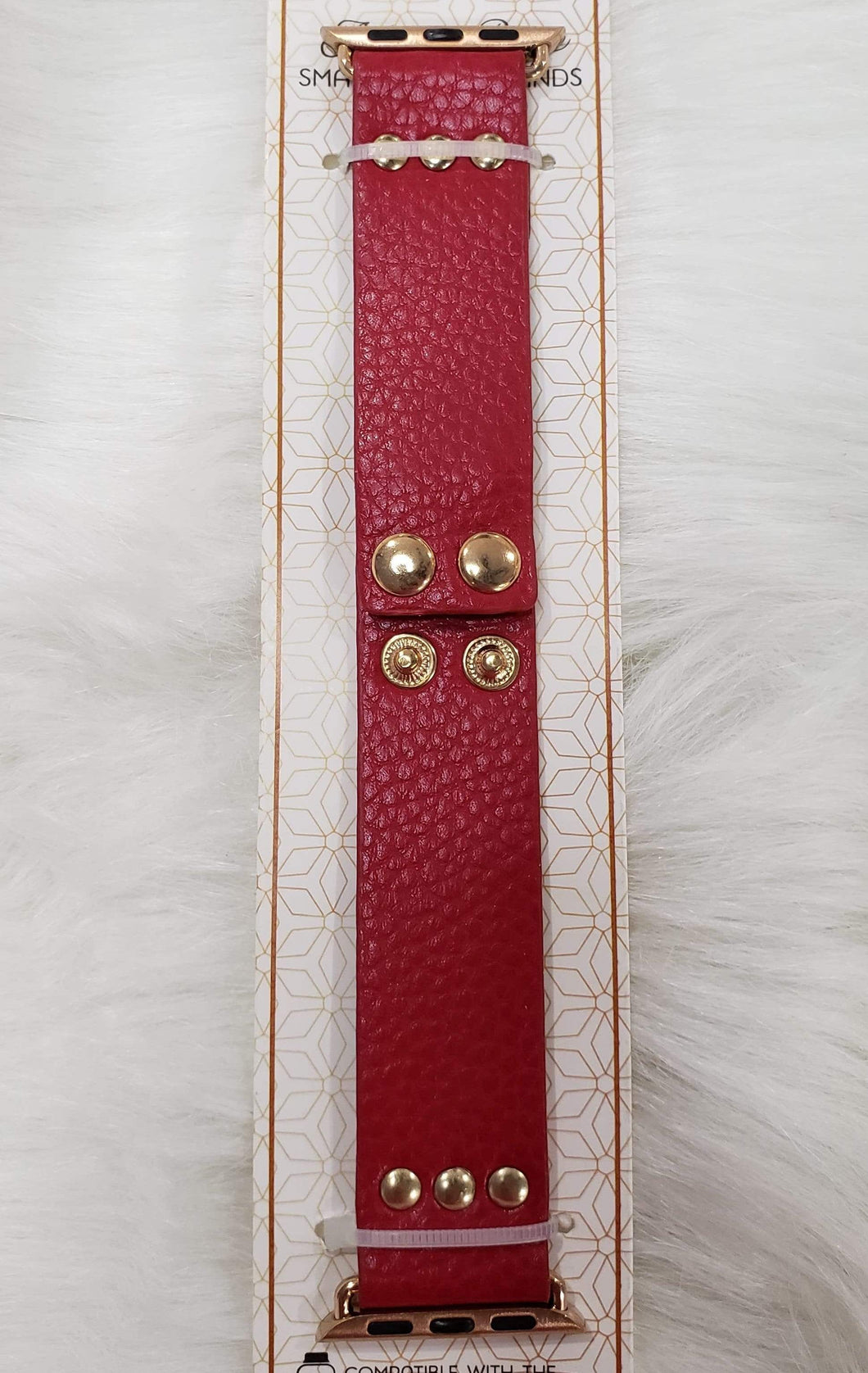 Accessories Red  Apple Watch Band 38mm to 42mm