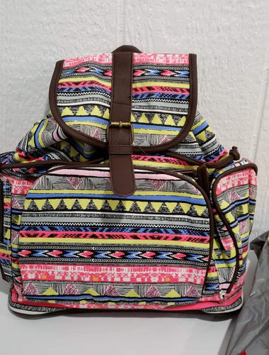 Backpack Pink Aztec Backpack/Purse