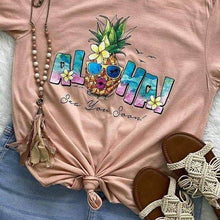 "Graphic T-Shirt Bella Canvas ""Aloha"""