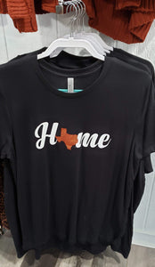 Graphic T-Shirt Short Sleeve T-Shirt (Home Texas)