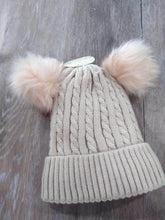 Hair Accessories Double Pom Beanie