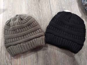 Hair Accessories Solid Beanies