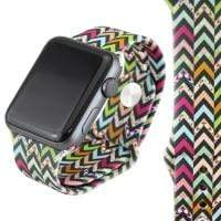 Jewelry Aztec Printed S/M 42mm Apple Watch bands S/M 38mm and 42mm