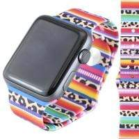 Jewelry Leopard/Serape S/M 42mm Apple Watch bands S/M 38mm and 42mm
