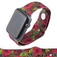 Jewelry Red Roses S/M 38mm Apple Watch bands S/M 38mm and 42mm