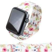 Jewelry WhiteCowskull S/M 38mm Apple Watch bands S/M 38mm and 42mm