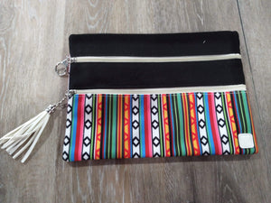 Make-up Bag Black/Serape The Versi Bag