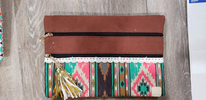 Make-up Bag Brown/Aztec The Versi Bag
